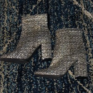 Jessica Simpson Tweed Booties